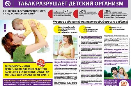 Табак разрушает детский организм Скачать (pdf)
